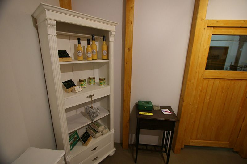 Verkauf von Nebenprodukten im SB-Hofladen 800x533px | Kartoffel Winte